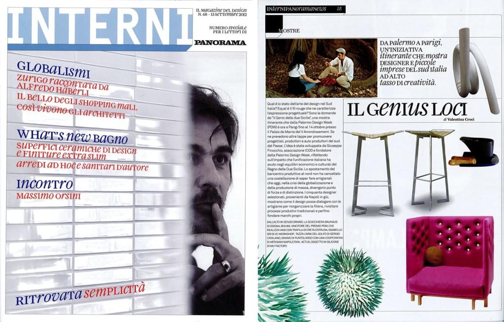 Interni - n. 68 13 Settembre 2012